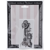 LaBlanche Silicone Stamp 13cm x 5.1cm -Oldtimer