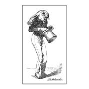LaBlanche Silicone Stamp 5.1cm x 8.9cm -Sir Rabbit