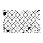 Lablanche Silicone Stamp 10cm x 6.4cm -Morroccan Fence