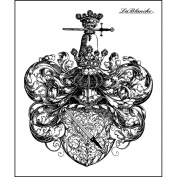 LaBlanche Silicone Stamp 7.6cm x 8.9cm -Book Plate