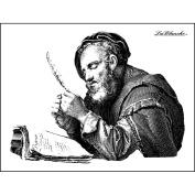 LaBlanche Silicone Stamp 10cm x 7.6cm -The Scholar