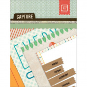 Capture Mini Snippets Single-Sided Cardstock Cards 7.6cm x 10cm -24 Designs