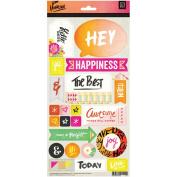 Highline Cardstock Stickers 15cm x 30cm -Title