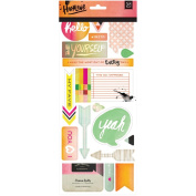 Highline Printed Self-Adhesive Chipboard-Shapes