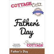 CottageCutz Expressions Die 7.6cm X.20cm -Father's Day