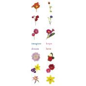 Fuseworks Decal 1 Sheet/Pkg-Floral