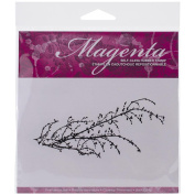 Magenta Cling Stamps 5.7cm x 12cm -Branch
