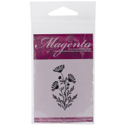 Magenta Cling Stamps 5.1cm x 3.8cm -Daisy Plant