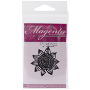 Magenta Cling Stamps 5.1cm x 4.4cm -Flower