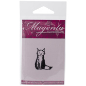 Magenta Cling Stamps 3.2cm x 3.8cm -Small Fox