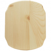 Walnut Hollow Pine French Corner Plaque, 9 by 28cm by 1.6cm