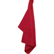 Waffle Weave Dishtowel 50cm x 70cm -Bright Red
