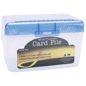 Multi-Purpose Card File 14cm x 8.9cm X2.190cm -Assorted Colours