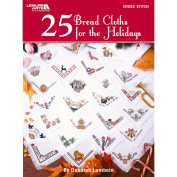 Leisure Arts-25 Bread Cloths For The Holidays