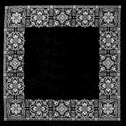Hav-A-Hank Open Centre Bandanna 60cm x 60cm -Black