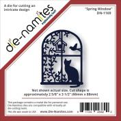 Die-Namites Die-Spring Window, 6.7cm x 8.9cm
