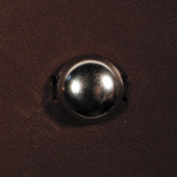 Round Spots 48/Pkg-Medium Antique Nickel