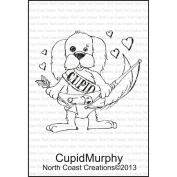 North Coast Creations Cling Rubber Stamp 9.5cm x 15cm -Cupid Murphy