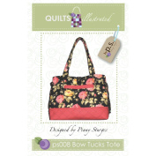 Quiltsillustrated-Bow Tucks Tote