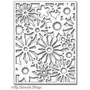 Die-Namics Cover-Up Die-Floral Fusion 10cm x 13cm