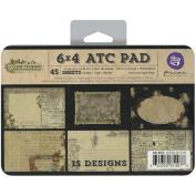 Time Traveller ATC Cards 10cm x 15cm 45/Pad-15 Designs/3 Each