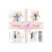 Wild Rose Studio Ltd. 10cm x 10cm Printed Panels 12/Sheets-Romantic