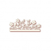 Wild Rose Studio Specialty Die 5.1cm x 14cm -Woodland Border
