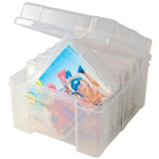 Storage Studios Photo Keeper-13cm x 20cm X7.13cm Clear