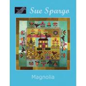 Sue Spargo Books-Magnolia Quilt 160cm x 150cm