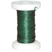 Green Floral Spool Wire 30g 118'/Pkg