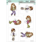 KennyK Topper Sheet 21cm x 31cm -Sweet Melissa