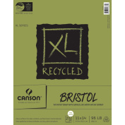 Canson XL Recycled Bristol Paper Pad 28cm x 36cm -25 Sheets