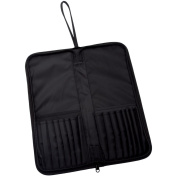Keep N' Carry Zippered Brush Carrier 32cm x 37cm -Long Handle-Black