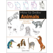 Search Press Books-How To Draw Animals In Simple Steps