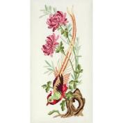Vintage Chrysanthemum Embroidery Kit-25cm - 1.3cm x 13cm