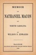 Memoir of Nathaniel Macon of North Carolina