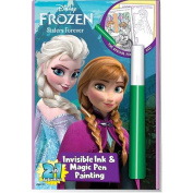 Disneys Frozen Invisible Ink Colouring Book