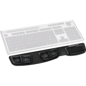 Fellowes Gel Keyboard Palm Support Black FEL 9183201
