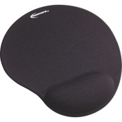 Innovera Gel Mouse Pad With Gel Wrist Rest Black IVR 50448