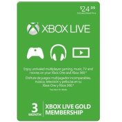 Xbox Live® 3-Month Gold Membership