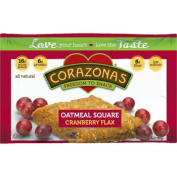 CORAZONAS™ Heart Healthy Cranberry Flax Oatmeal Squares 72-Count