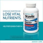 Ocuvite® Eye Vitamin Adult 50+ Formula, 150 Soft Gels