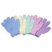 Exfoliating Bath Gloves One Pair