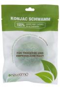 Aloe vera konjac sponge for dry skin