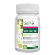 biophix Vitamin D3 5000 IU 30 Softgels