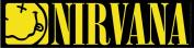 Licences Products Nirvana Smiley Strip Sticker