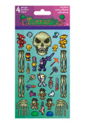 Terraria 4 Sheets Stickers Decal 128-Piece Set Birthday Party Favours