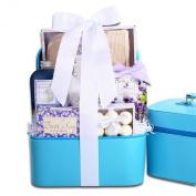 Lavender Touch of Elegance Spa Gift Basket