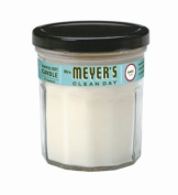 Mrs. Meyer's Soy Candle, Basil, 210ml Glass Jars
