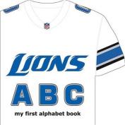 Detroit Lions ABC (My First Alphabet Books (Michaelson Entertainment)) [Board book]